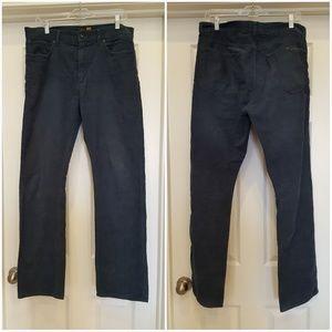 J.Crew mens slim straight blue corduroy pant 32x32